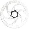 Formula Bremsscheibe Centerlock einteilig silber